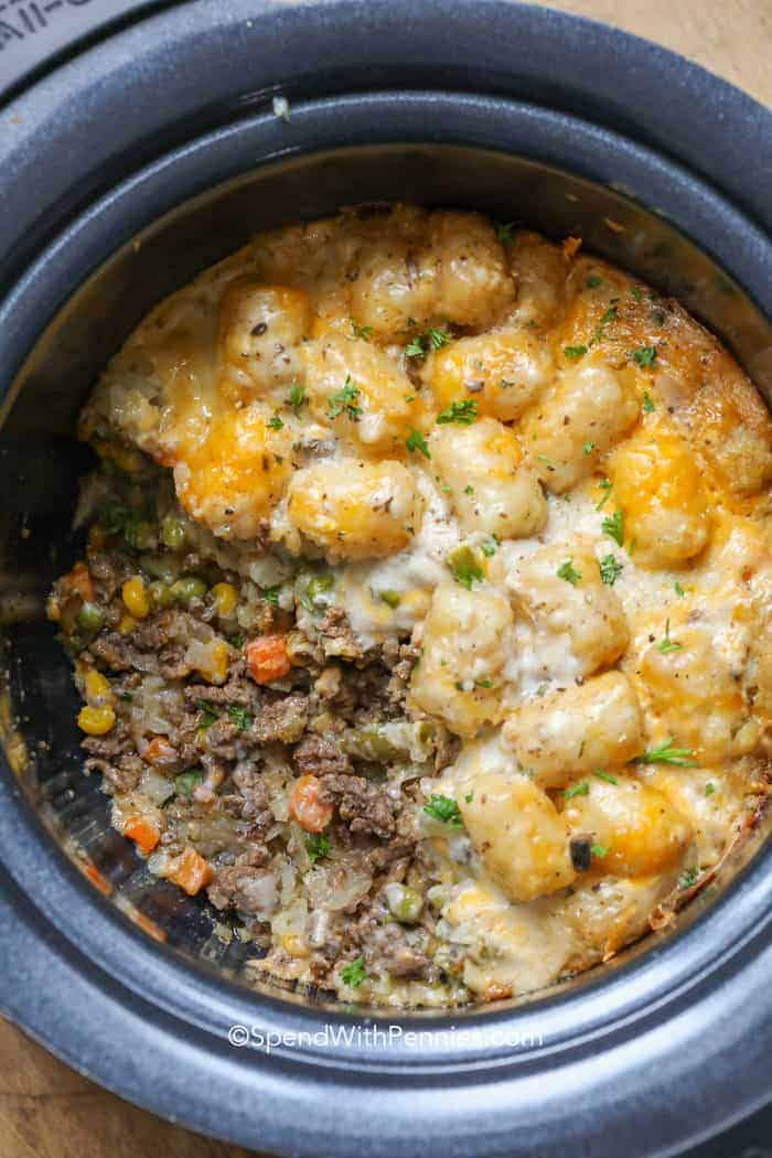Tater Tot Casserole Spend With Pennies