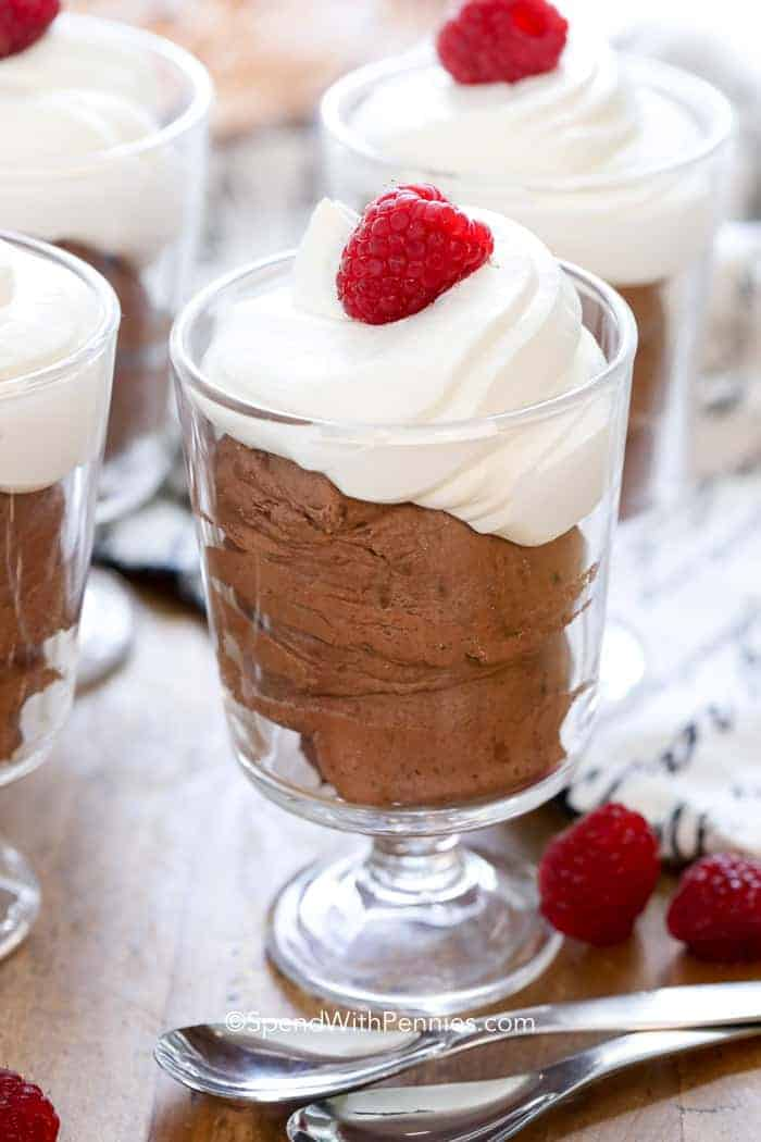 Easy Chocolate Mousse In 1 Minute