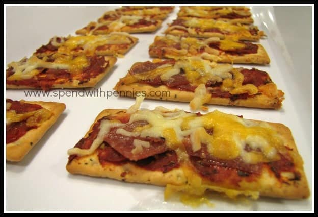 Recipe for Pizza Snack Bites