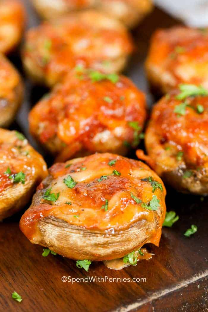 Easy Stuffed Mushrooms Spend With Pennies