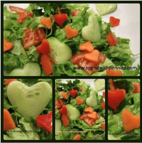 Valentines Day Idea Cute Salad