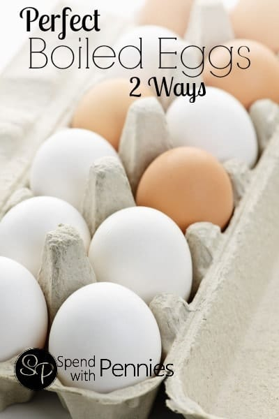 "Perfect ""Boiled"" Eggs 2 Ways! (Oven Baked or Boiled)"