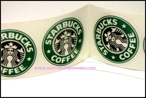 Starbucks Mocha Cupcakes stickers