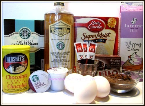 Starbucks cupcakes ingredients