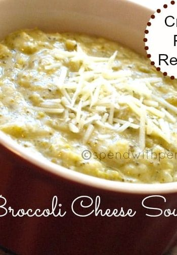 broccoli cheddar soup in slow cooker