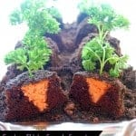 garden patch carrot cupcakes