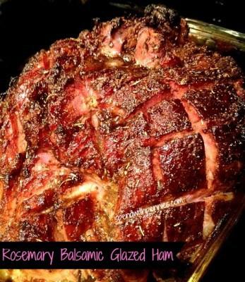 rosemary balsamic ham