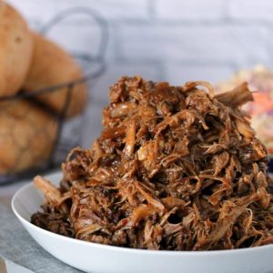 Slow Cooker Pulled Pork with Zesty Slaw