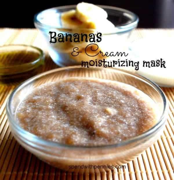 bananas & cream moisturizing mask
