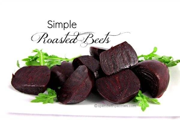 simple roasted beets