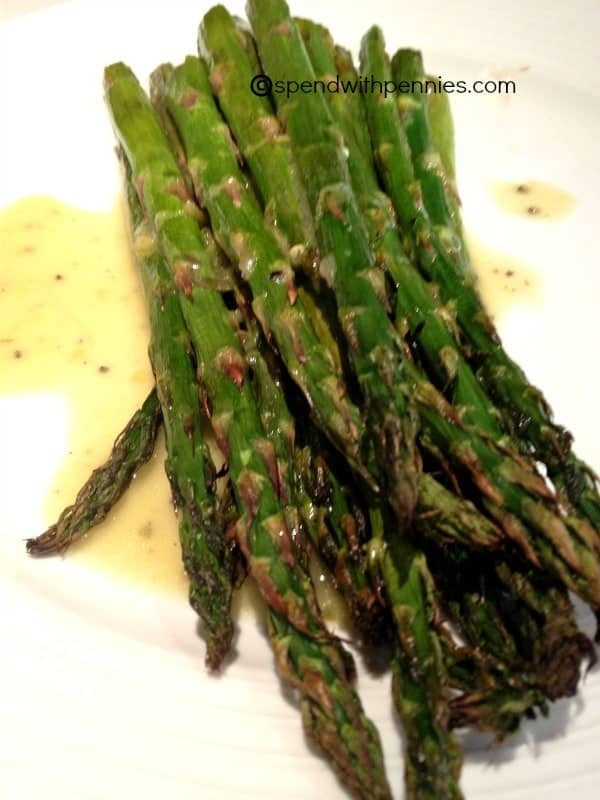 lemon mustard vinaigrette barely cooked asparagus with lemon mustard ...