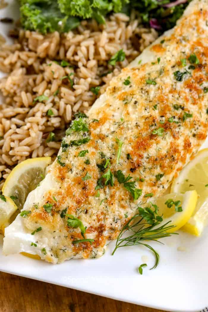 Parmesan Crusted Tilapia Recipe Broiled In 10 Min Spend With Pennies