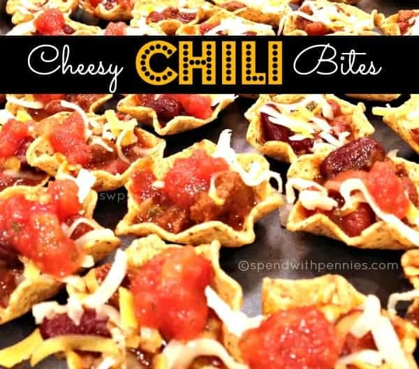 cheesy chili bites