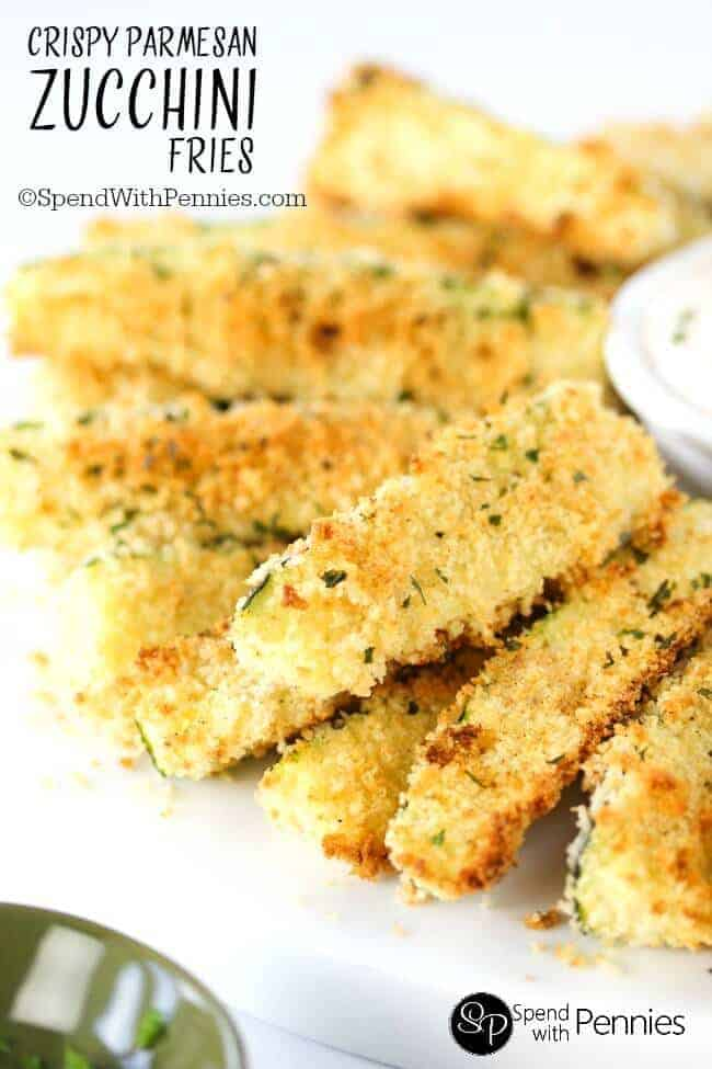 recipe: garlic parmesan zucchini fries [6]