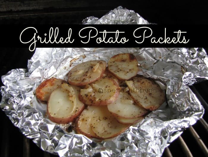grilled potato packets