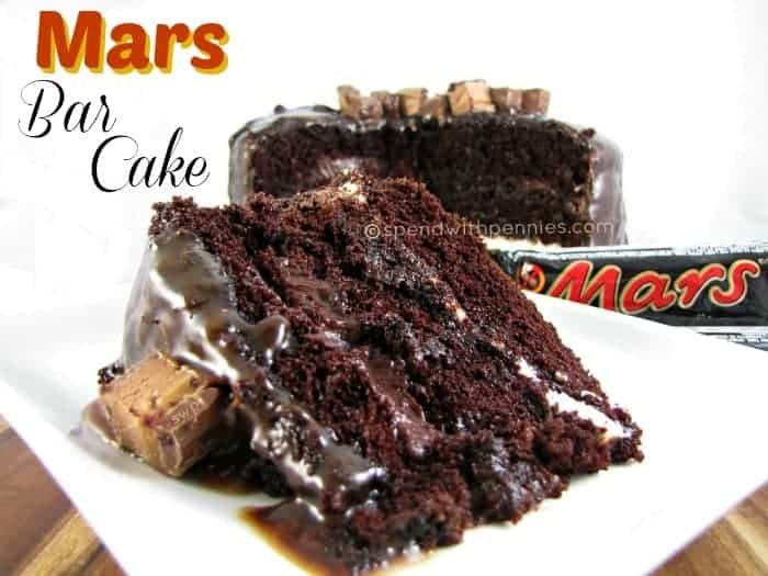 mars bar cake by spend with pennies