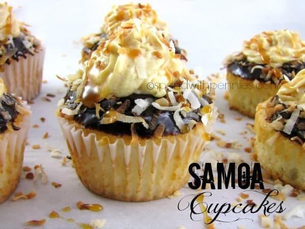 samoa cupcakes 1