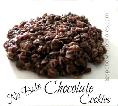 no bake chocolate oatmeal cookies without peanut butter