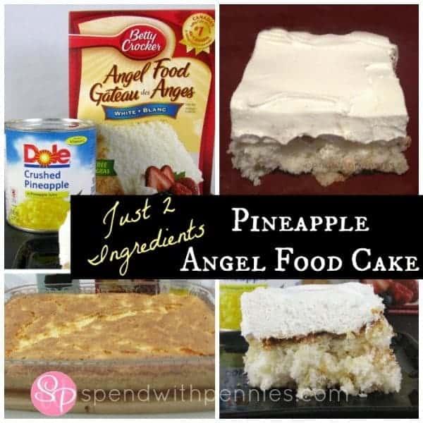 Ingredient Apple Angel Food Cake Recipe