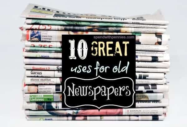 10 great uses for old newpapers