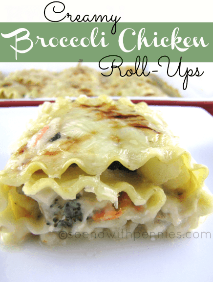 Broccoli Chicken Roll-Ups
