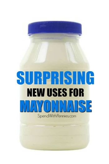 jar of mayonnaise with text