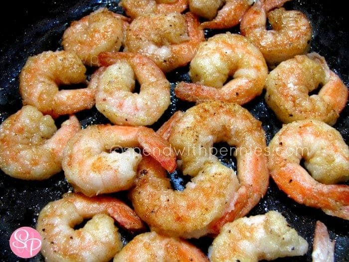 Lemon Pepper Shrimp - Spend With Pennies