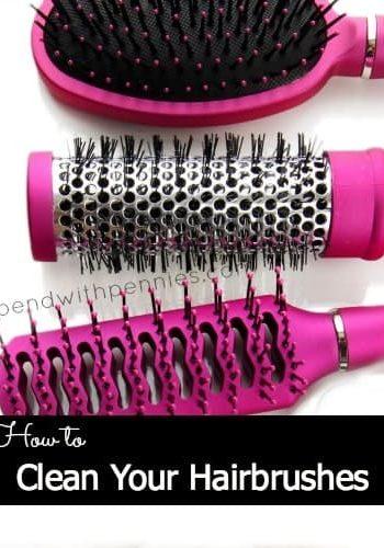 3 pin hairbrushes