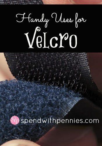 closeup of velcro