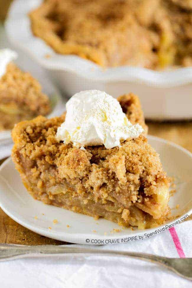 The BEST Apple Crumb Pie! This is truly the best apple pie recipe you ...