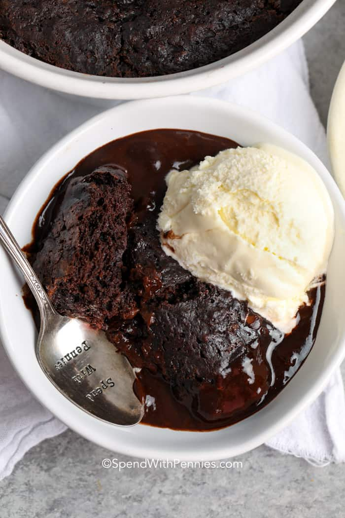 Chocolate Pudding Cake Bake In 30 Minutes
