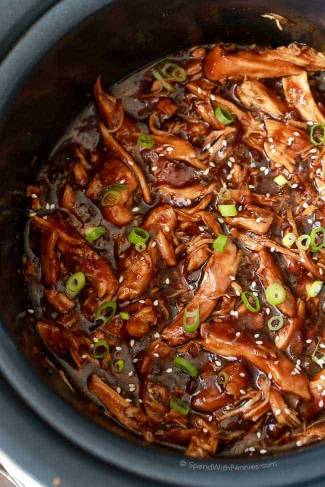 Slow cooker honey garlic chicken spend with pennies slow cooker honey garlic chicken jump to recipe forumfinder Choice Image