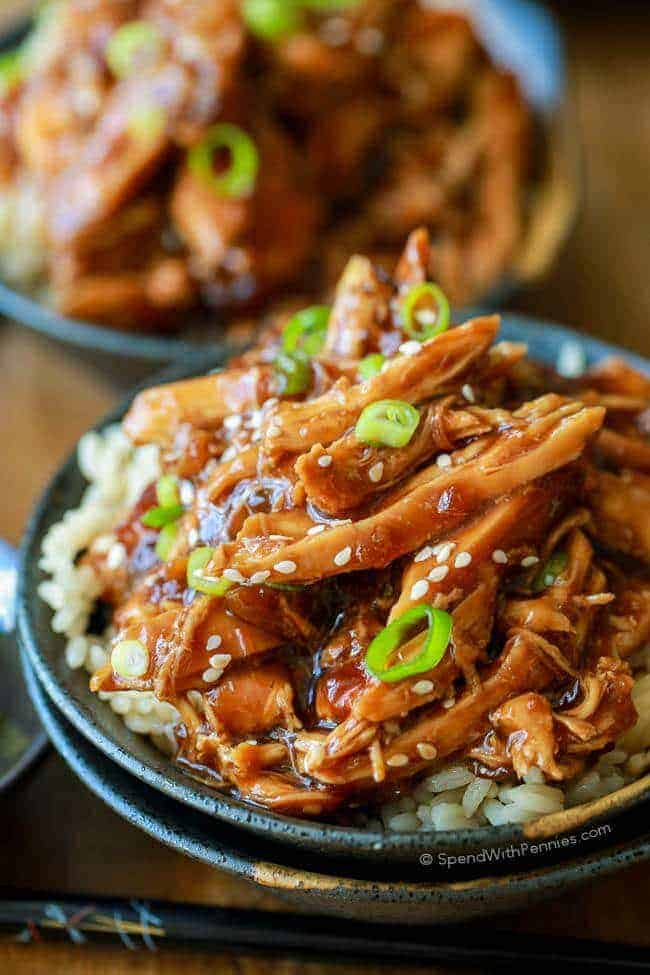 Best Slow Cooker Honey Garlic Chicken Spend With Pennies