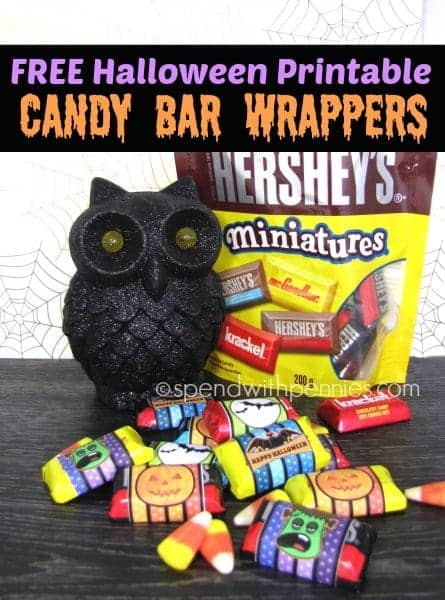 photo relating to Printable Hershey Bar Wrappers known as Absolutely free Halloween Printable Sweet Bar Wrappers! - Shell out With