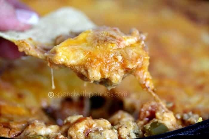 Hot & Cheesy Taco Dip! - Spend With Pennies