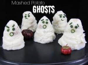 mashed potato ghosts