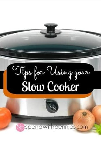 slow cooker with tomatoes and onions in front