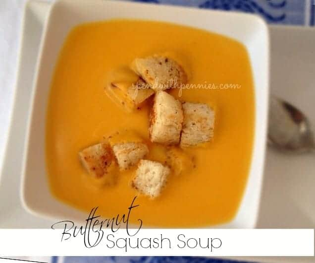 roasted butternut squash soup rich velvety winter squash roasted and ...