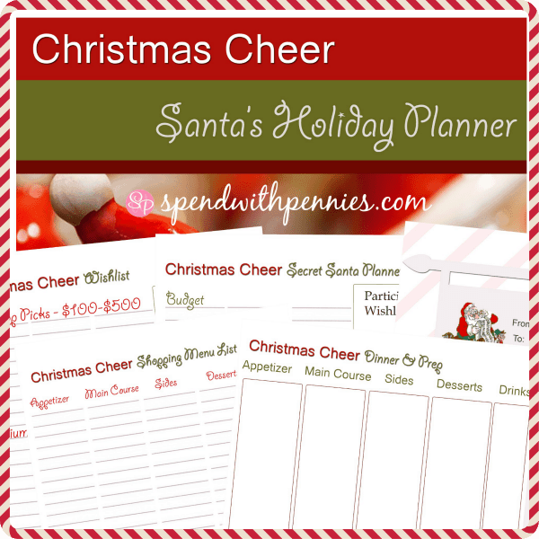 christmas cheer planner