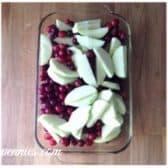 steps to make cranberry apple criasp
