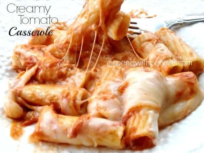 creamy tomato casserole
