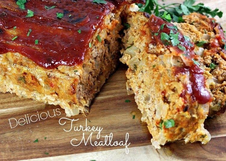delicious turkey meatloaf