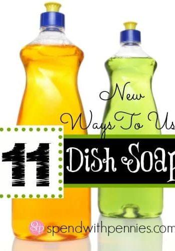 2 bottles of dish soap