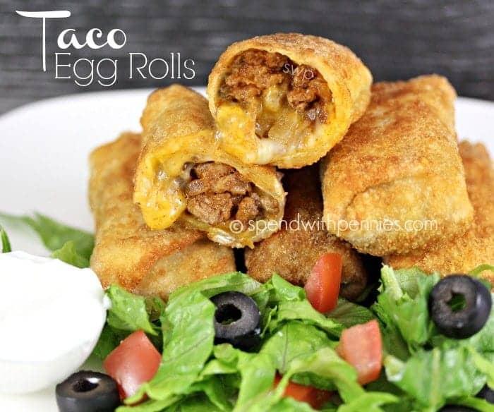 taco egg rolls