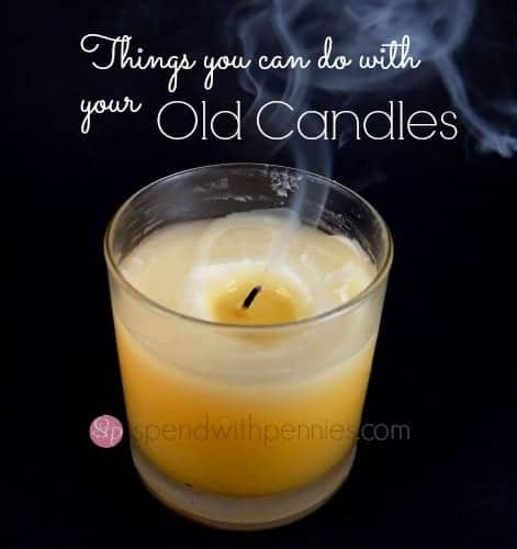 things you can do with old candles