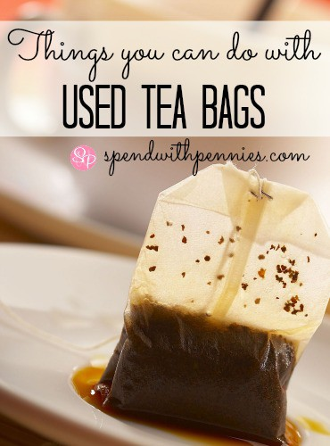 Things you can do with used tea bags spend with pennies - Uses for tea bags ...