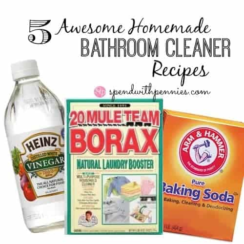 5 awesome homemade bathroom cleaner recipes - Homemade Bathroom Cleaner