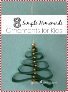 8 simple ornaments for kids