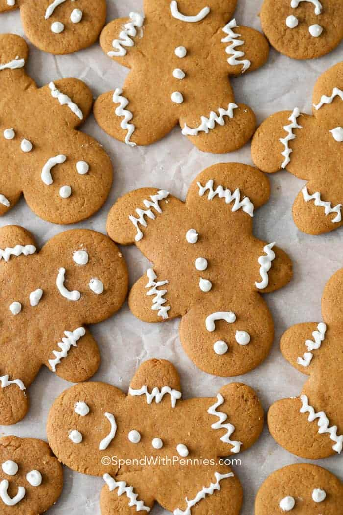 Perfect Gingerbread Cookies Spend With Pennies