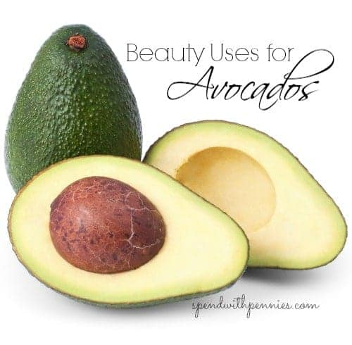 beauty uses for avocados